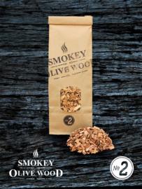 Smokey Olive Wood rookchips Olijf & Beuk Nº2