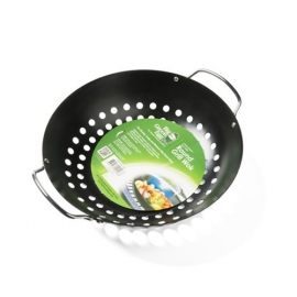 Big Green Egg Round Grill wok