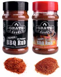 Grate Goods Barbecue Sauces & Rubs Voordeel Pakket