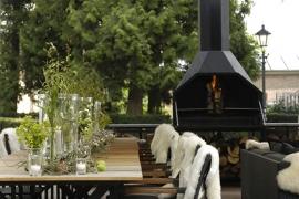 Home Fires Suprême de Luxe 800 Vrijstaand model