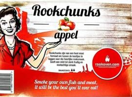 Rookchunks Appel 5kg