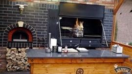 Home Fires Suprême de Luxe 1000 Inbouwmodel