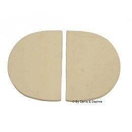 Keramische warmtereflector Primo Oval XL (2 stuks)