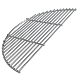 Big Green Egg Stainless Steel Half Grid (L/XL) t.b.v EGGspander Kit