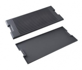 Reversable cast-iron plate