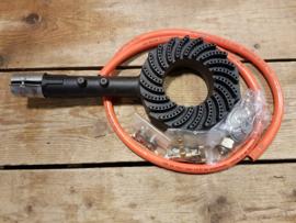 Gasbrander 9.5 kW voor rookoven of smoker