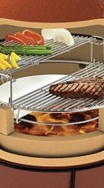 Divide & Conquer Flexible Cooking System (Inbegrepen bij elke Classic en Big Joe)