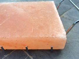 Salt plate holder