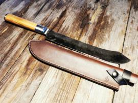 Sebra Forged Butcher Knife & Lederen Hoes
