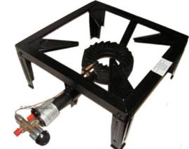 Gasbrander Hocker Powerfire 9,5 kW Thermisch beveiligd 30 mBar +Piezo