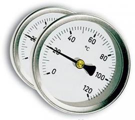 Rookoven temperatuurmeter t.b.v. Genova, Palma en Verbania