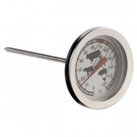 Temperatuurmeter 10 cm doorsnede klok 4.5 voor tafelrookoven en andere rookovens