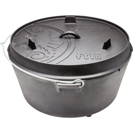 Petromax Dutch Oven FT18 (17,3L) met pootjes