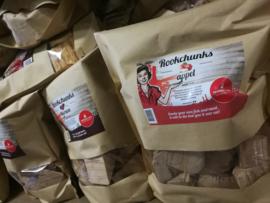 Voordeelpakket Rookchunks (3 soorten - beuk, appel, hickory)