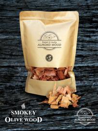 Smokey Olive Wood amandelhout rookchips Nº3