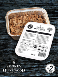 Smokey Olive Wood EZ-Smoker rookchips Nº2