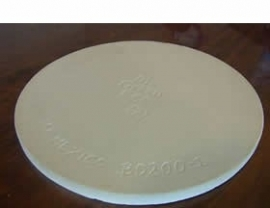 Big Green Egg Pizzasteen / Flat Baking Stone Large