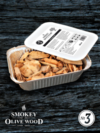 Smokey Olive Wood EZ-Smoker rookchips Nº3