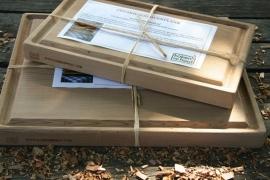 Koken op hout CedarWood OvenPlank L (br 19 x l 30 x h 2,8)