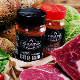 Grate Goods Barbecue Sauces & Rubs Voordeel Pakket