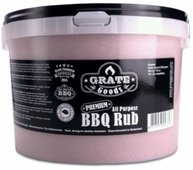 Grate Goods Premium All Purpose BBQ Rub (2200 gram emmer)