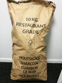 Restaurant Grade Houtskool - 10KG - haag, beuk, eik, berk