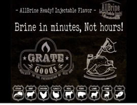 Grate Goods AllBrine Ready Aromatic Herbs & Spices