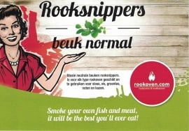 Rooksnippers Beuk 500g