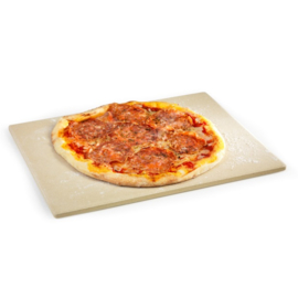 Universele pizzaplaat - 43 x 35 x 1,2 cm (Barbecook)