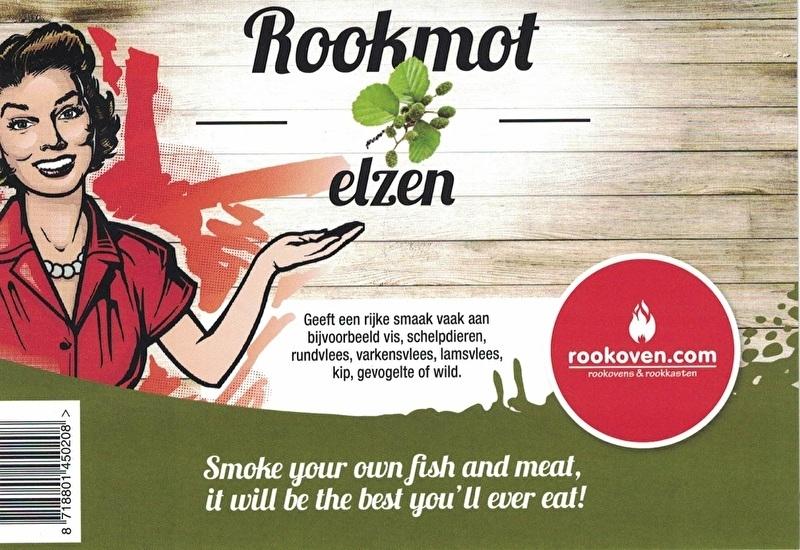 Rookmot Elzen 1,5kg