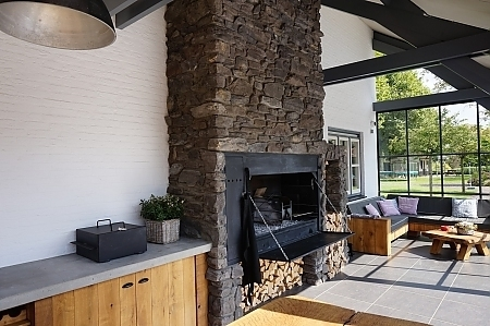 Home Fires Suprême de Luxe 1500 Spitbraai Inbouwmodel
