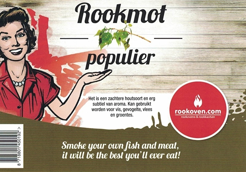 Rookmot Populier 12kg
