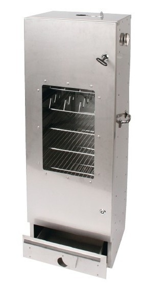 Rookoven Scarlino 150 x 39 x 33 RVS (totaalpakket / met raam)