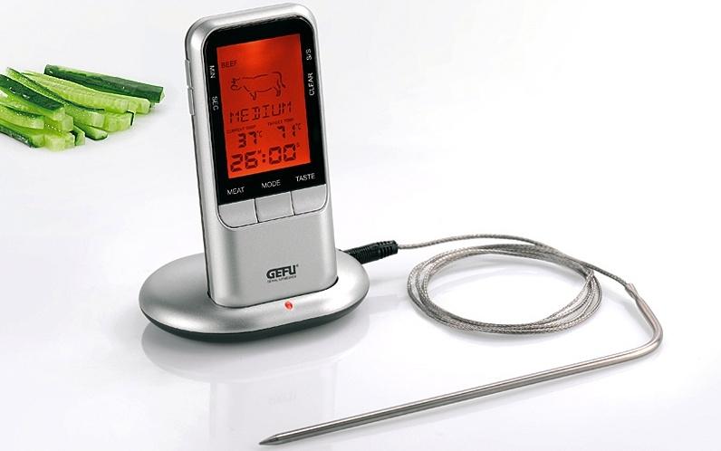 Gefu Digitale draadloze themometer / temperatuurmeter met timer