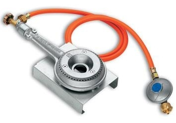 Gasbrander 4.2 kW, regelbaar