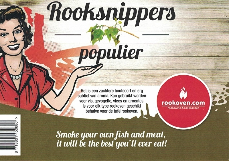 Rooksnippers Populier 500g