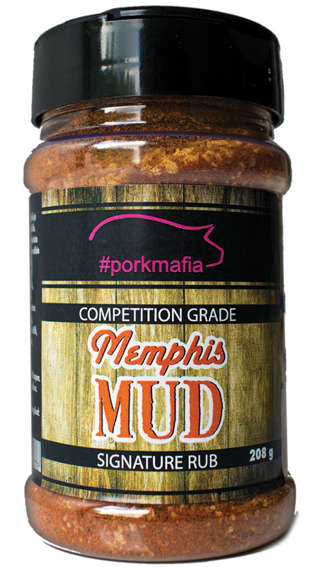 "#Porkmafia ""Memphis Mud"" Signature Rub voor Pork"