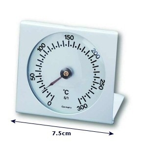 Professionele RVS temperatuurmeter tot 300 graden