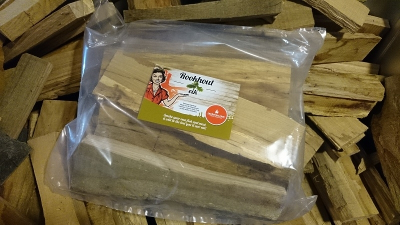 Eikenhout (Professioneel kurkdroog en schorsvrij eiken rookhout 5 kg)