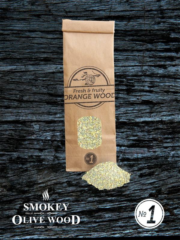 Smokey Olive Wood Sinaasappelhout Rookmot Fijn Nº1 (300ml)
