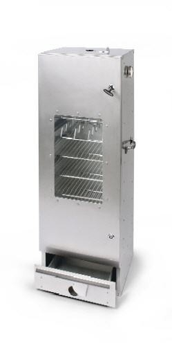 Rookoven Scarlino 100 x 39 x 33 RVS (totaalpakket / met raam)