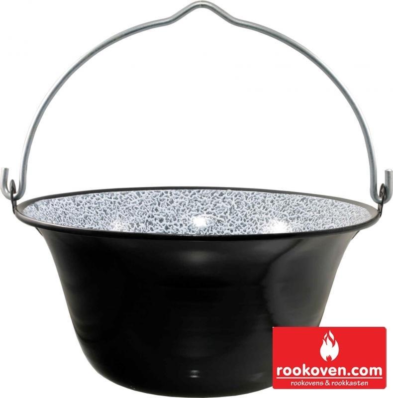 Goulashpan / heksenketel 10 liter incl. deksel