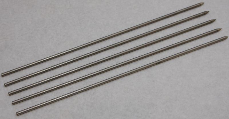 RVS Speet - 38 cm (per stuk) - geschikt voor Bradley
