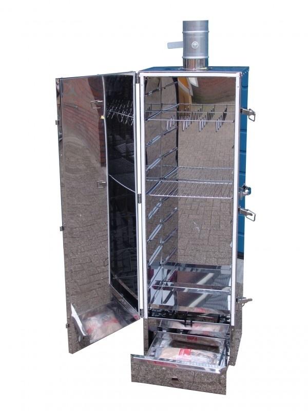 Rookoven Isolino RVS 120 x 39 x 33 geïsoleerd (nieuw)