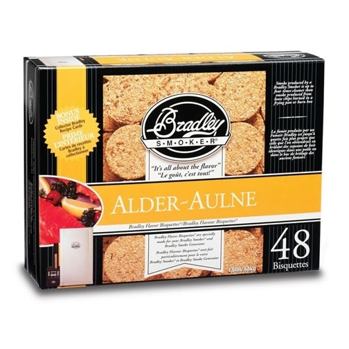 Bradley Briketten Elzen / Alder 48 Stuks
