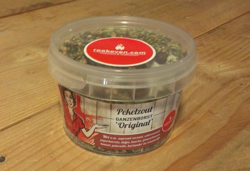 """Pekelzout Ganzenborst """"Original"""" (inhoud 250 gr.)"""