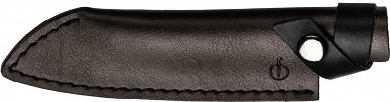 Forged Leather Santoku 14 cm Hoes