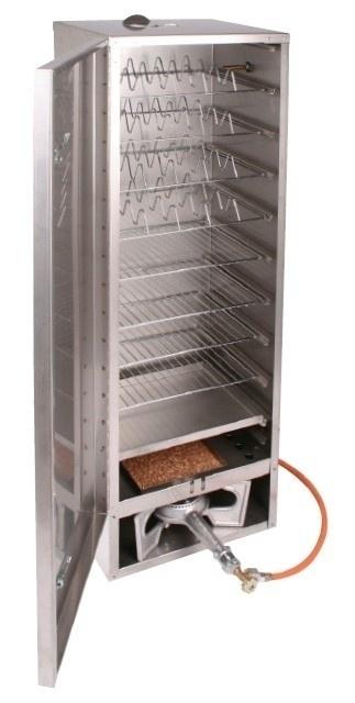 Rookoven Scarlino 150 x 39 x 33 RVS (totaalpakket / zonder raam)