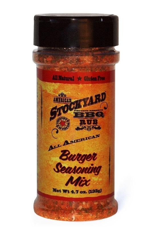 Stockyard Burger Seasoning BBQ Rub