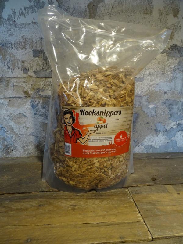 Rooksnippers Appel 1,5kg
